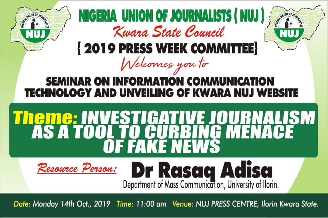 Don tasks journalists  on fake news