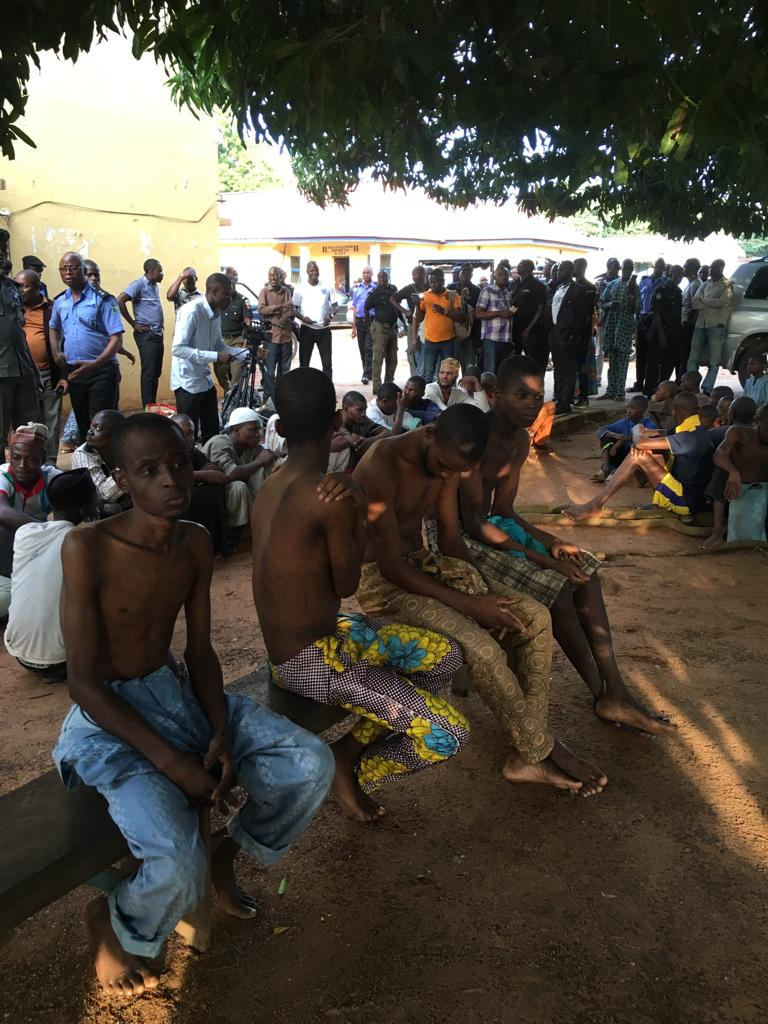 Kwara police uncovers illegal rehabilitation centre