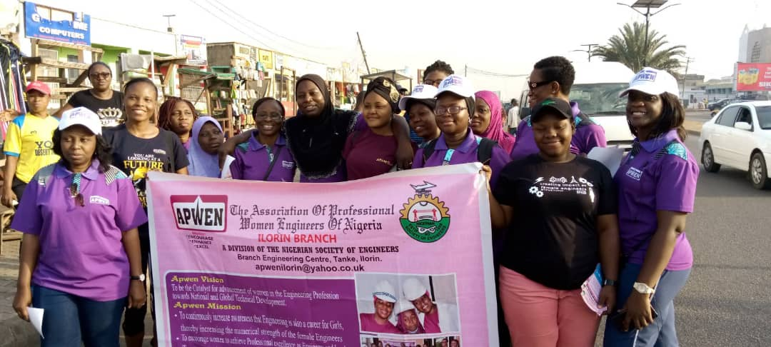 International Women's Day: Kwara APWEN takes Coronavirus, Lasa Fever campaign round Ilorin streets