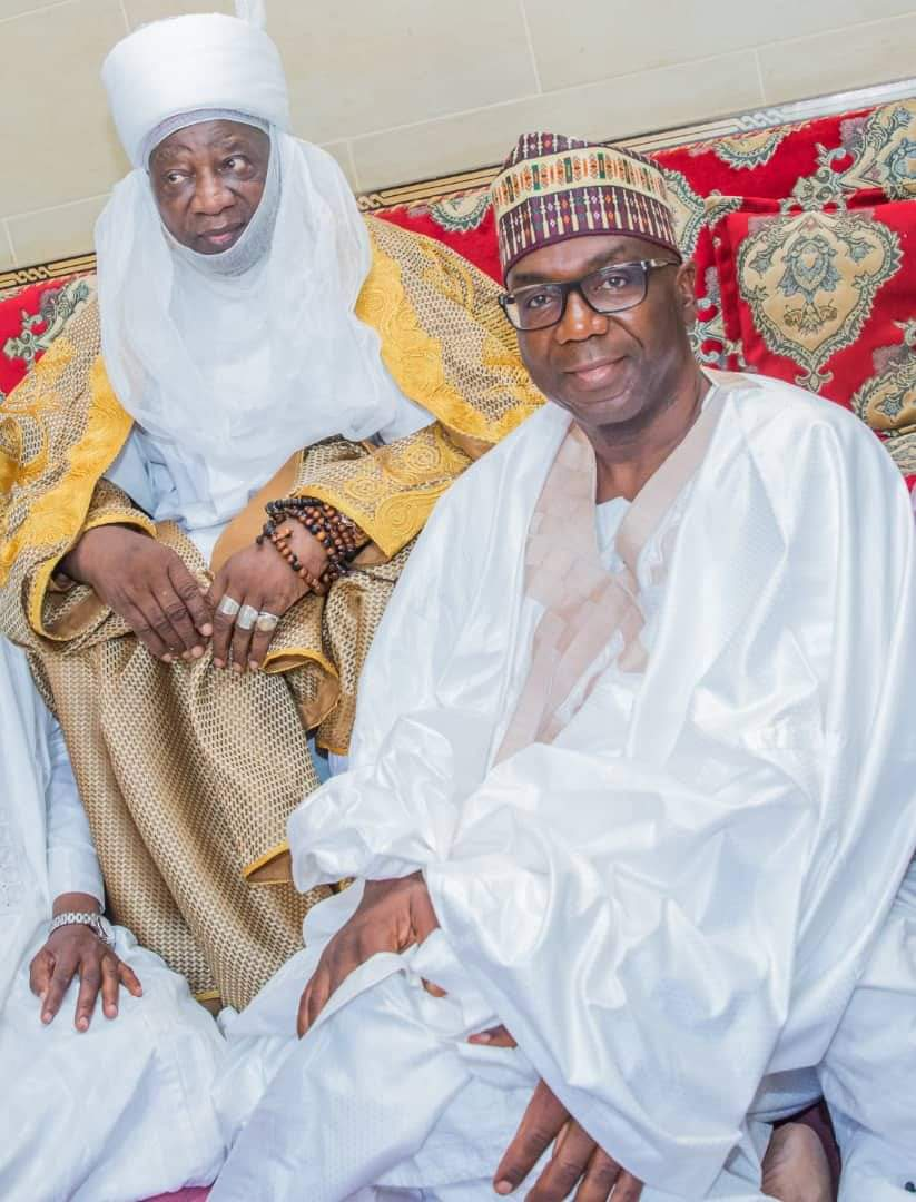 Governor Abdulrazaq felicitates with Emir of Ilorin at 80, describes him as symbol of unity