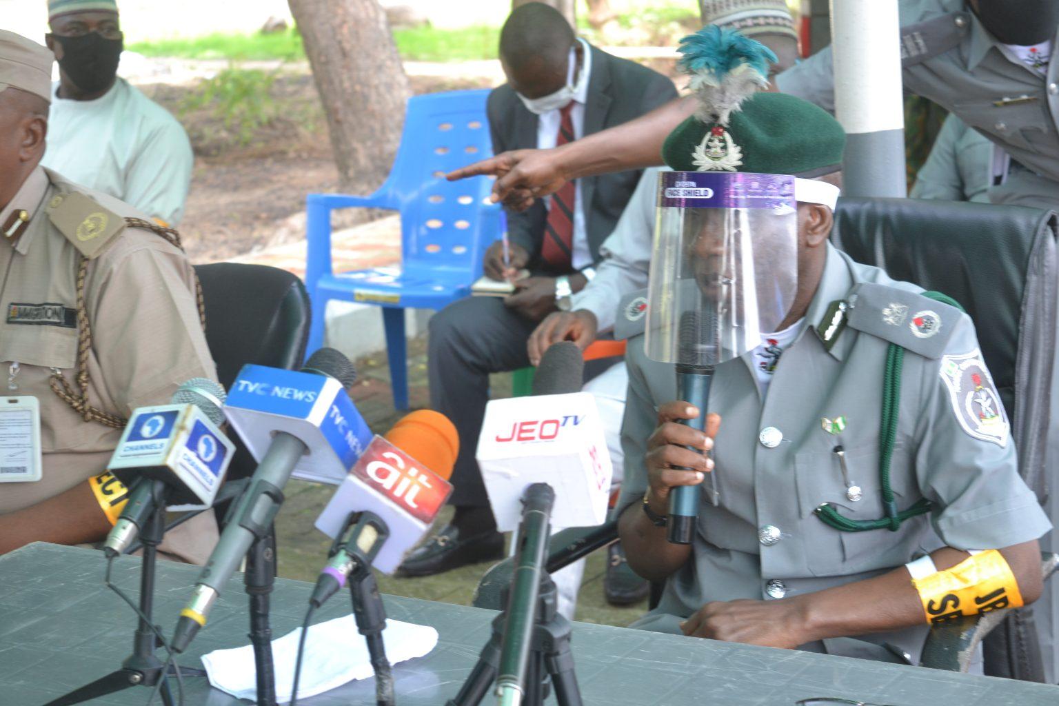 Customs seize N1.2 billion goods, arrest 53 suspects in North Central