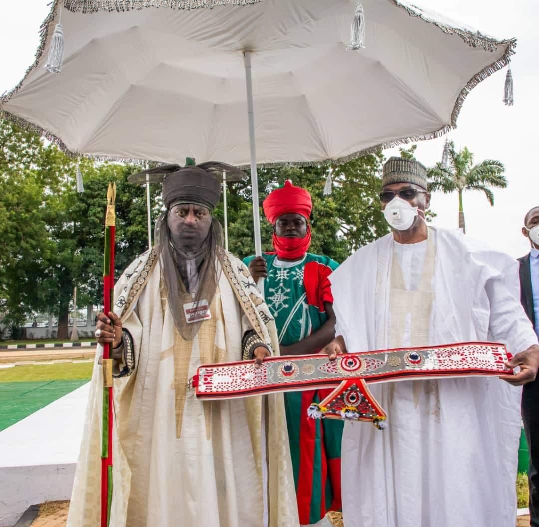 Kwara Gov Congratulates Emir of Kano on his coronation